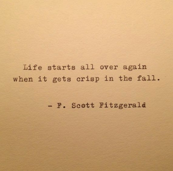 Fitzgerald Autumn Quote
