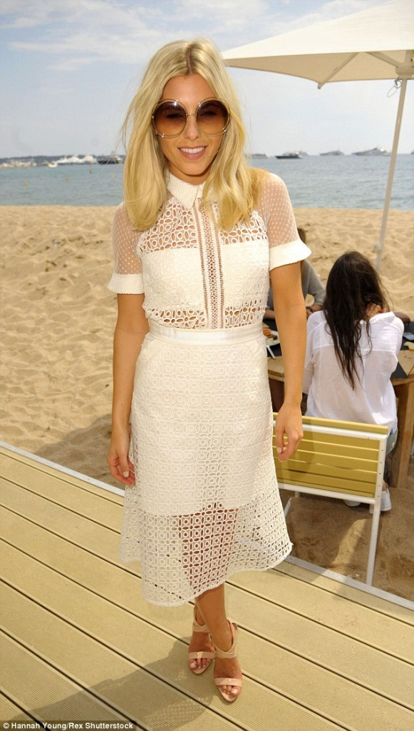 mollie king-self portrait-white-panelled-dress-cut-out-style-fashion-love-want-need-gingham and sparkle-blog-ireland-dubai