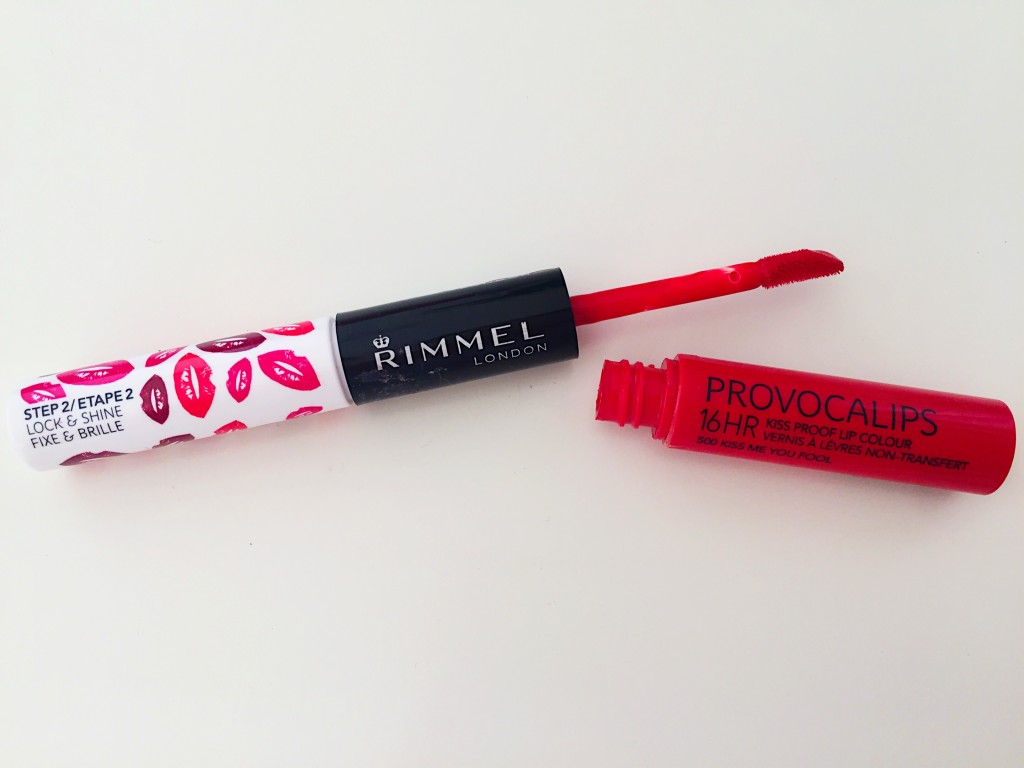 Rimmel-provocalips-lip stain-lipstick-red-makeup-review-blog post-gingham and sparkle-dubai-ireland-beauty blogger