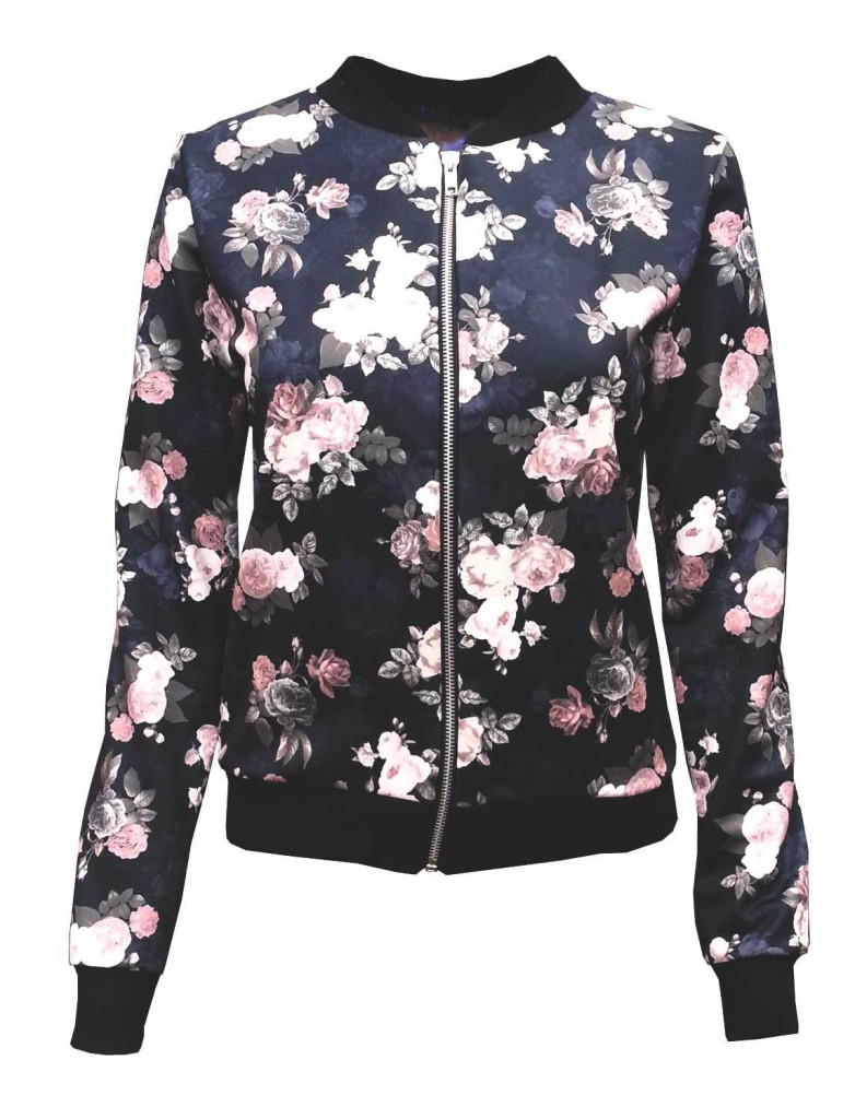 bomber-jacket-floral-black-flowers-trendy-autumn-winter-on trend-return of the bomber-gingham and sparkle-blogger-blog post-casual-sports luxe