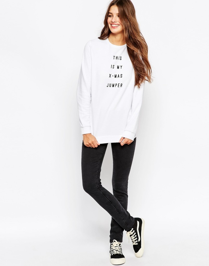 Asos-christmas-jumper-slogan-shopping-online-blog post-gingham and sparkle-fashion-style-dubai-ireland-blogger-novelty-seasonal