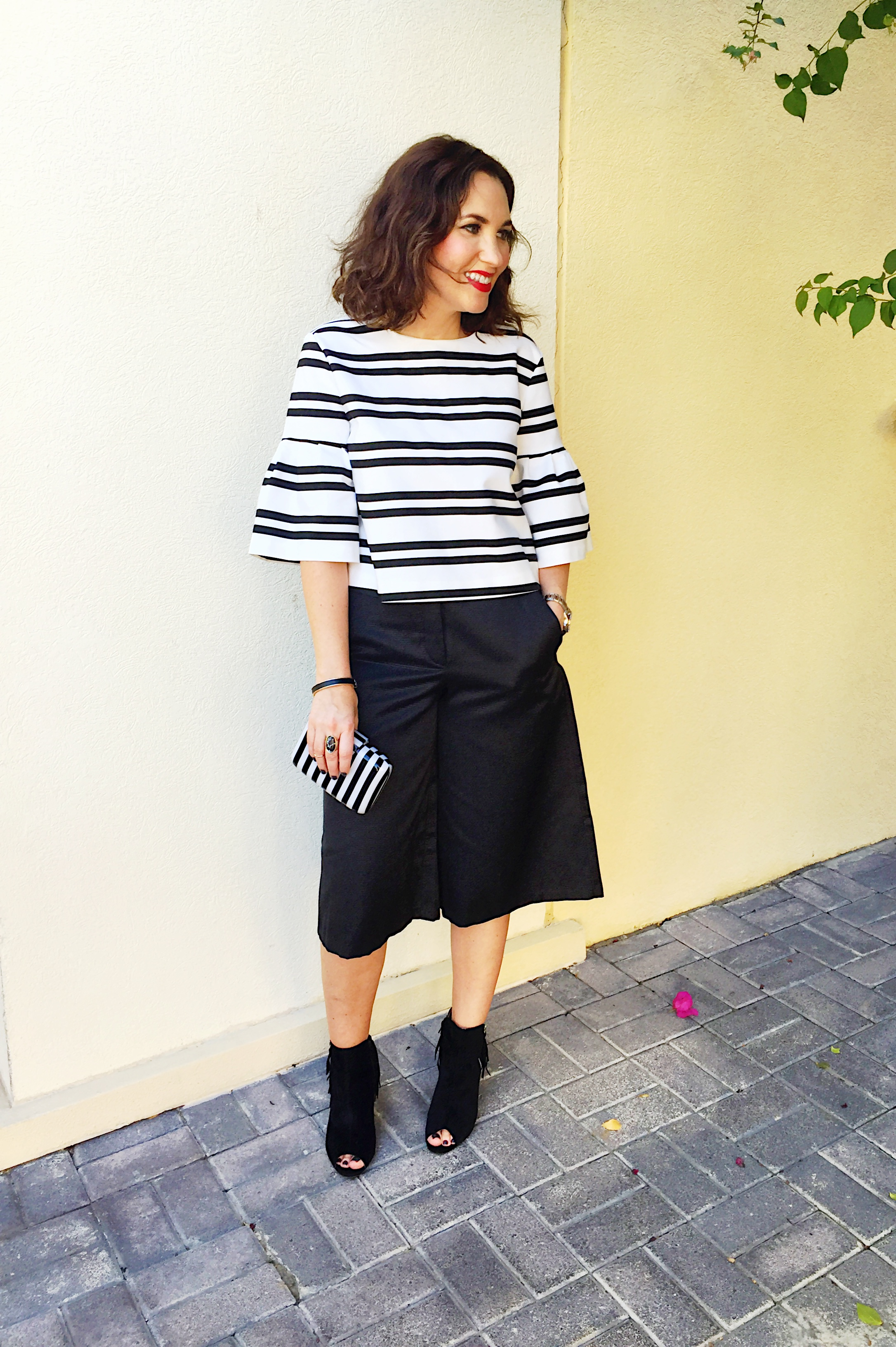 399cfc480b8 Gingham and sparkle - Culottes….love them or hate them