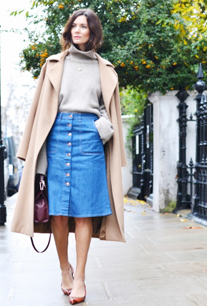 Jean skirt trend 2016 – Modern skirts blog for you