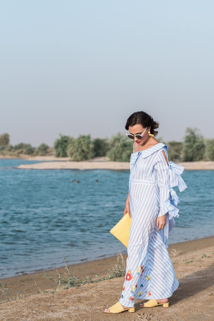 hz-by-hissa-zainal-collection-fashion-designer-local-middle-east-qatar-doha-style-stylist-gingham-and-sparkle-love-dress-inspo-inspired-cotton-stripes-yellow-stylist-blogger-flowers-detail-print-gulf-designers-series-feature