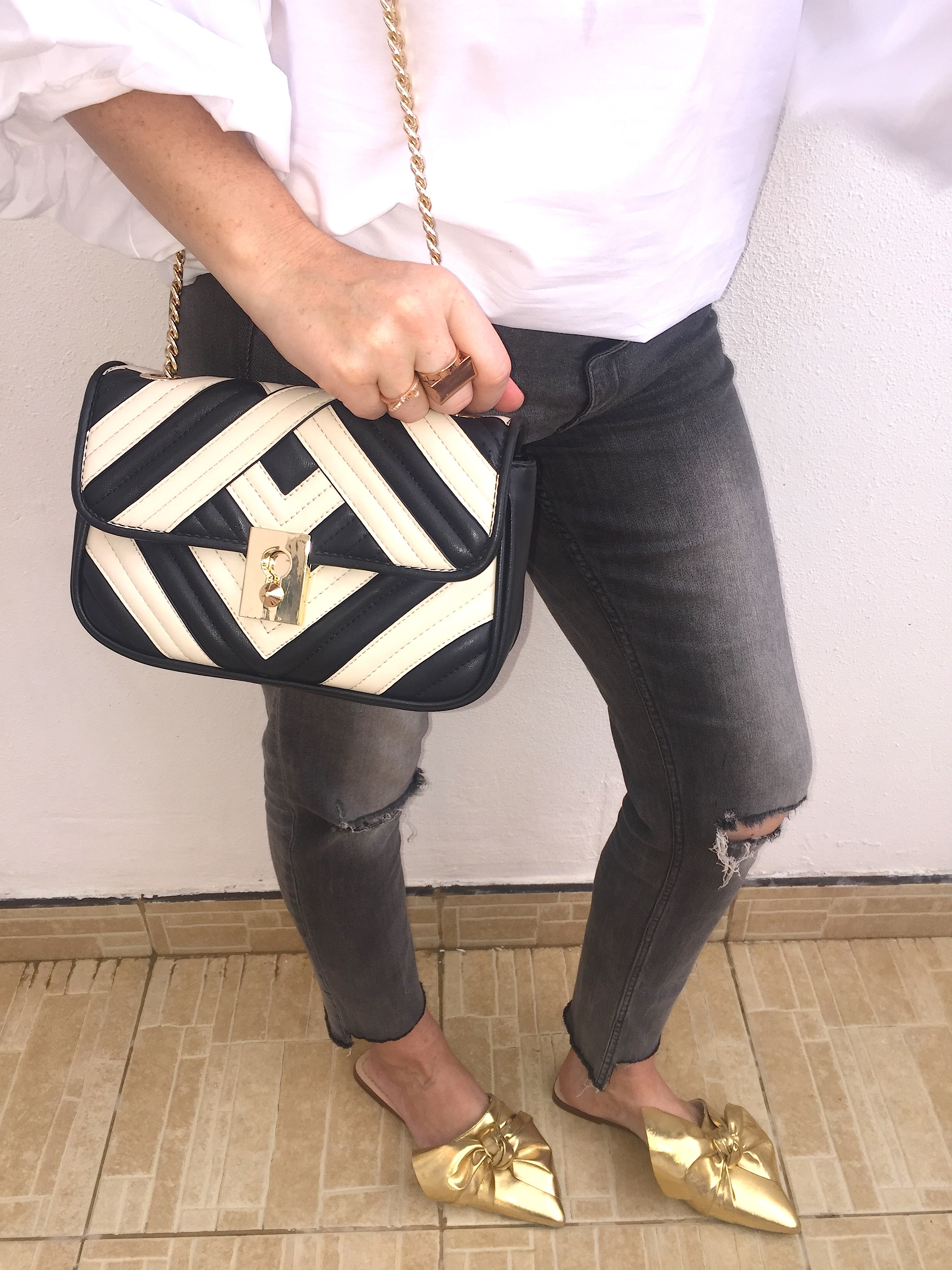 Gingham And Sparkle The High Street It Bag Of The